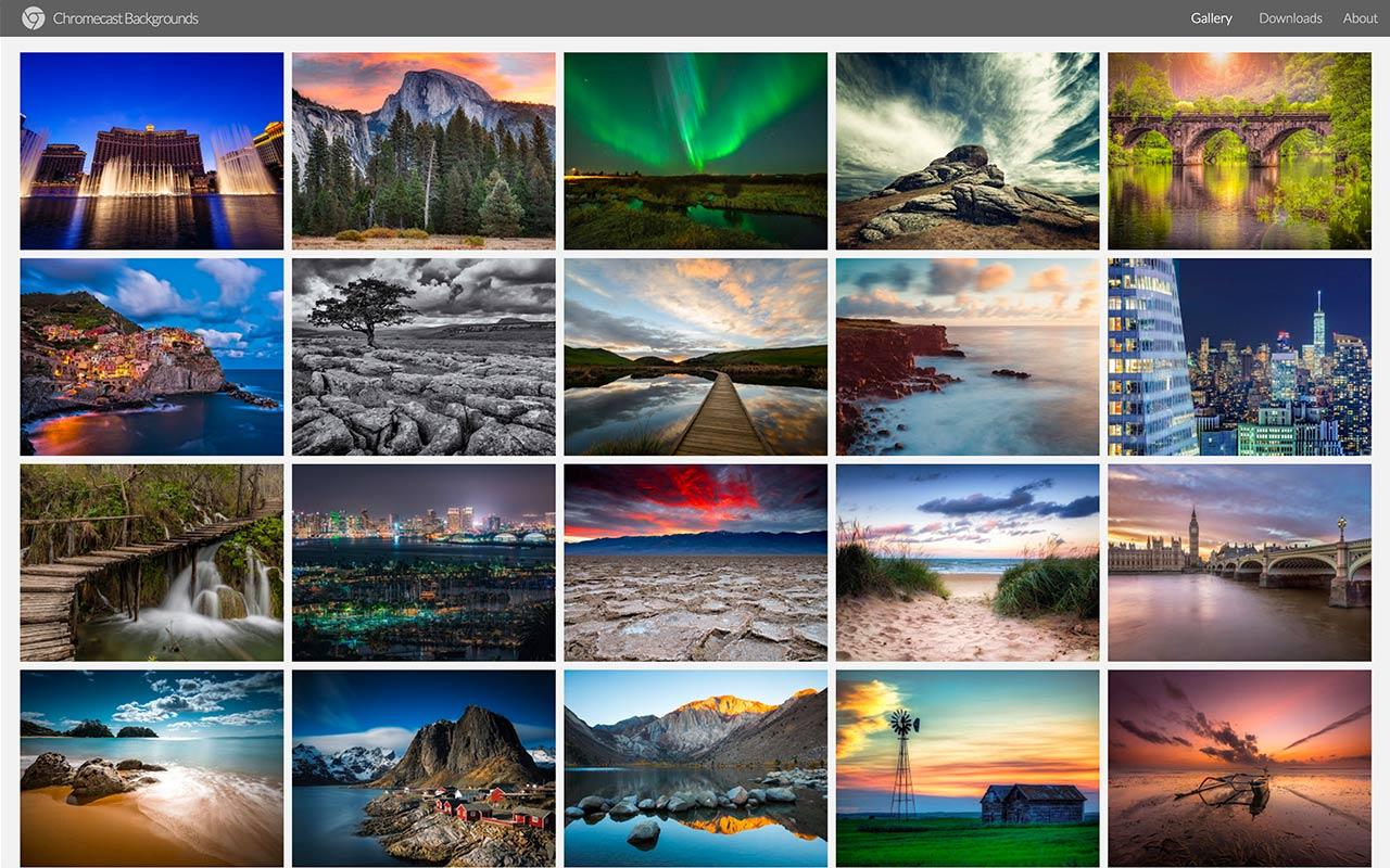 Chromecast Backgrounds Alex Meub