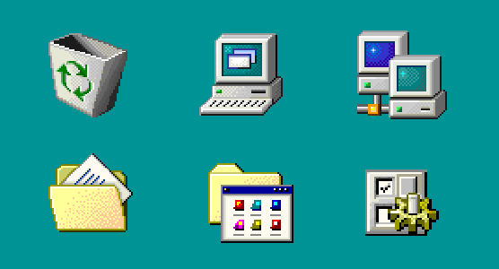 Windows 98 Icons are Great · Alex Meub